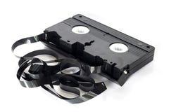 Video tape velho foto de stock