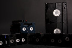 Video tapes Stock Photo