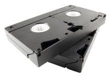 Video tapes Royalty Free Stock Image