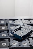 Video tapes Stock Image