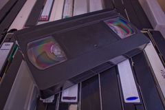 Video tapes Imagens de Stock Royalty Free