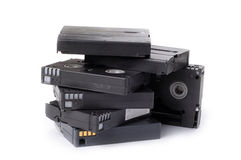 VIDEO TAPES fotografia de stock royalty free