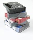 Video tapes de Digitas Imagens de Stock Royalty Free