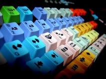 Video tastiera Fotografie Stock Libere da Diritti
