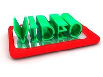 Video am Telefon Stockfotos