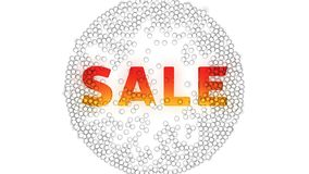 Video on the theme of sale, discount. stock footage