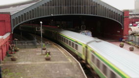 Video of a train in cinemagraph stock footage