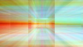 Traveling through a maze of refracted light loop. Video of traveling through a maze of refracted light loop stock video footage