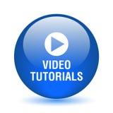 Video tutorial button vector illustration