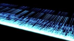 Video van veelvoudige blauwe lijnen stock illustratie