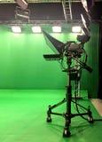 Video verde vuoto moderno Immagini Stock
