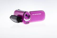 Video videocamera portatile di HD - immagine di riserva immagini stock