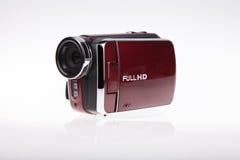 Video videocamera portatile PIENA di HD - immagine di riserva fotografia stock libera da diritti