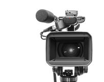 Video videocamera portatile professionale Immagine Stock