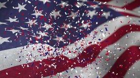 Video voor Amerikaanse verkiezing vector illustratie