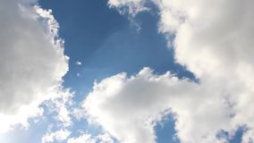 White clouds atmosphere weather. Video of white clouds atmosphere weather stock video footage