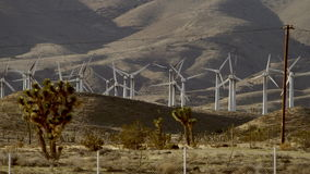 The video of windmills from the borderside stock video footage