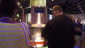 Video of the World of Coca Cola stock video footage