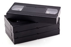 Videobänder. Lizenzfreies Stockbild