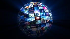 Videobereich (HD-Schleife) lizenzfreie abbildung