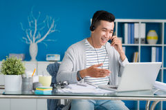 Videocall Royalty Free Stock Photo