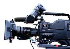 Videocam de la TV Foto de archivo libre de regalías