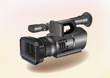 Videocamera. Immagine Stock