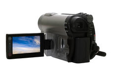 Videocamera Stock Foto's