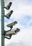 Videocamera di obbligazione Fotografia Stock