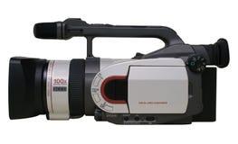 Videocamera di Prosumer Digital - isolata fotografie stock libere da diritti