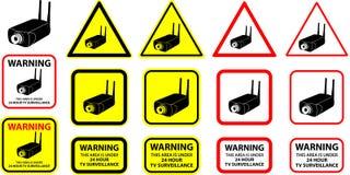 Videocamera di sicurezza 06 Immagine Stock Libera da Diritti