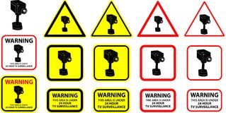 Videocamera di sicurezza 07 Fotografia Stock Libera da Diritti