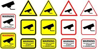 Videocamera di sicurezza 08 Fotografie Stock
