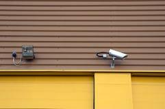 Videocamera di sicurezza Immagine Stock Libera da Diritti