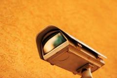 Videocamera di sicurezza all'aperto del CCTV immagine stock