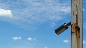 Videocamera di sicurezza (CCTV) Fotografia Stock Libera da Diritti