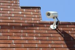 Videocamera di sicurezza a circuito chiuso Fotografia Stock