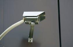 Videocamera di sicurezza del CCTV. Fotografie Stock Libere da Diritti