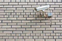 Videocamera di sicurezza del CCTV Fotografie Stock Libere da Diritti