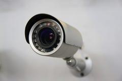 Videocamera di sicurezza del CCTV. Immagini Stock