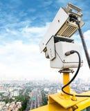 Videocamera di sicurezza di traffico Immagini Stock Libere da Diritti