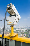 Videocamera di sicurezza di traffico Immagine Stock Libera da Diritti