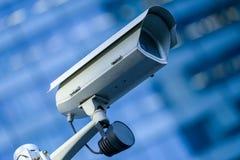 Videocamera di sicurezza e video urbano Fotografia Stock Libera da Diritti