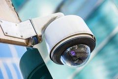 Videocamera di sicurezza e video urbano Immagini Stock