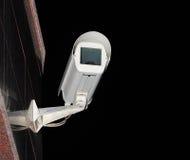 Videocamera di sicurezza isolata Immagine Stock Libera da Diritti