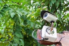 Videocamera di sicurezza o CCTV Fotografia Stock Libera da Diritti