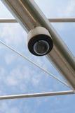 Videocamera di sicurezza di alta tecnologia Immagine Stock Libera da Diritti