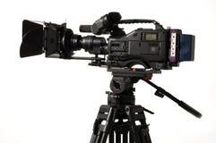 Videocamera digitale professionale. Immagini Stock