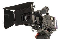 Videocamera digitale professionale. Fotografie Stock Libere da Diritti