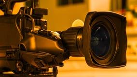 Videocamera digitale professionale accessori per le videocamere 4k fotografia stock